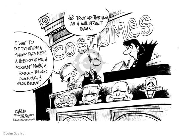 Cartoonist John Deering  John Deering's Editorial Cartoons 2008-10-14 investment