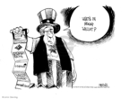 Cartoonist John Deering  John Deering's Editorial Cartoons 2008-11-03 credit card debt
