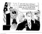 Cartoonist John Deering  John Deering's Editorial Cartoons 2008-12-12 catch