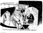 Cartoonist John Deering  John Deering's Editorial Cartoons 2008-12-23 climate