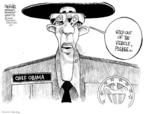 Cartoonist John Deering  John Deering's Editorial Cartoons 2009-03-31 assistance