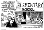 Cartoonist John Deering  John Deering's Editorial Cartoons 2009-09-08 education