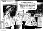 Cartoonist John Deering  John Deering's Editorial Cartoons 2010-04-08 science