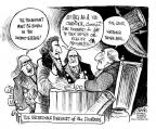 Cartoonist John Deering  John Deering's Editorial Cartoons 2011-05-18 TV