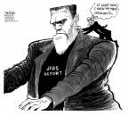 Cartoonist John Deering  John Deering's Editorial Cartoons 2011-06-06 2012 election economy