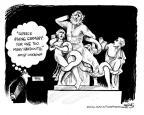 Cartoonist John Deering  John Deering's Editorial Cartoons 2011-06-21 aid