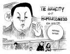 Cartoonist John Deering  John Deering's Editorial Cartoons 2011-12-22 Kim Jong-Il