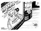 Cartoonist John Deering  John Deering's Editorial Cartoons 2012-01-12 2012 primary