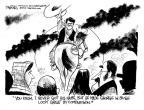 Cartoonist John Deering  John Deering's Editorial Cartoons 2012-01-20 2012 primary