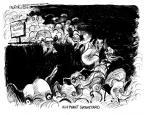 Cartoonist John Deering  John Deering's Editorial Cartoons 2012-02-01 2012 primary