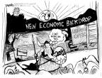 Cartoonist John Deering  John Deering's Editorial Cartoons 2012-03-02 2012 election economy