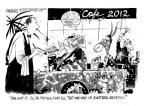 Cartoonist John Deering  John Deering's Editorial Cartoons 2012-06-03 food fight