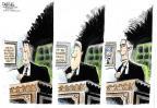 John Deering  John Deering's Editorial Cartoons 2012-09-05 2012 election economy