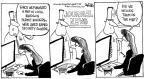 Cartoonist John Deering  John Deering's Editorial Cartoons 2013-01-04 gun