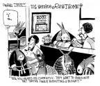 Cartoonist John Deering  John Deering's Editorial Cartoons 2013-02-06 2013