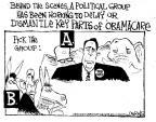 Cartoonist John Deering  John Deering's Editorial Cartoons 2013-09-27 behind