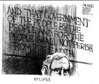 Cartoonist John Deering  John Deering's Editorial Cartoons 2013-10-02 government shutdown