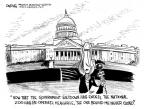 Cartoonist John Deering  John Deering's Editorial Cartoons 2013-10-21 government shutdown