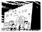 Cartoonist John Deering  John Deering's Editorial Cartoons 2013-12-07 behind