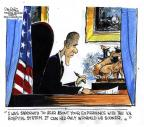 Cartoonist John Deering  John Deering's Editorial Cartoons 2014-05-22 report