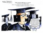 Cartoonist John Deering  John Deering's Editorial Cartoons 2014-05-29 education