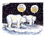 Cartoonist John Deering  John Deering's Editorial Cartoons 2014-11-20 climate
