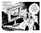 Cartoonist John Deering  John Deering's Editorial Cartoons 2015-04-08 American president