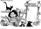 Cartoonist John Deering  John Deering's Editorial Cartoons 2007-12-11 cat