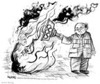 John Deering  John Deering's Editorial Cartoons 2008-04-01 2008 Olympics