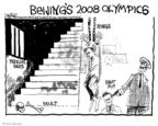 John Deering  John Deering's Editorial Cartoons 2008-04-10 2008 Olympics