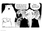 Cartoonist John Deering  John Deering's Editorial Cartoons 2008-05-15 endangered species
