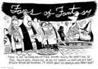 Cartoonist John Deering  John Deering's Editorial Cartoons 2008-05-19 fan