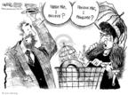 Cartoonist John Deering  John Deering's Editorial Cartoons 2008-07-15 assistance