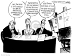 Cartoonist John Deering  John Deering's Editorial Cartoons 2008-09-03 24-hour cable