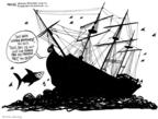 Cartoonist John Deering  John Deering's Editorial Cartoons 2008-09-16 aid
