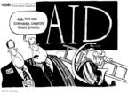 Cartoonist John Deering  John Deering's Editorial Cartoons 2008-10-09 aid