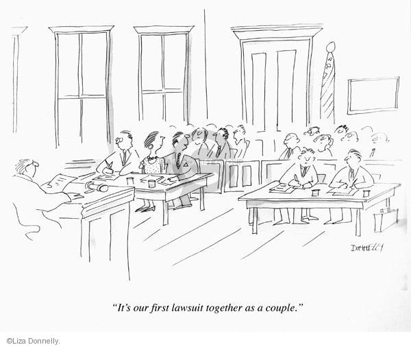 Cartoonist Liza Donnelly  Liza Donnelly's Panel Cartoons 2011-07-02 couple