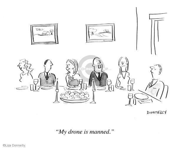 Cartoonist Liza Donnelly  Liza Donnelly's Panel Cartoons 2013-03-10 military