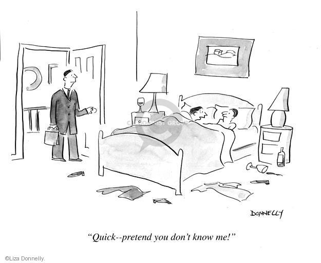 Cartoonist Liza Donnelly  Liza Donnelly's Panel Cartoons 2013-04-03 couple