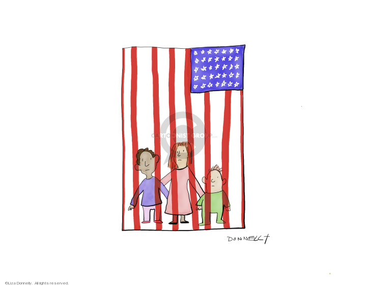 Cartoonist Liza Donnelly  Liza Donnelly's Panel Cartoons 2019-07-01 child