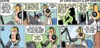 Cartoonist Steve Kelley Jeff Parker  Dustin 2011-02-13 fruit