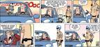 Cartoonist Steve Kelley Jeff Parker  Dustin 2013-10-20 compliment