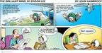 Cartoonist John Hambrock  The Brilliant Mind of Edison Lee 2009-04-19 average