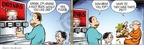 Cartoonist John Hambrock  The Brilliant Mind of Edison Lee 2009-05-12 beer
