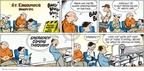 Cartoonist John Hambrock  The Brilliant Mind of Edison Lee 2009-07-05 opening