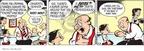 Cartoonist John Hambrock  The Brilliant Mind of Edison Lee 2009-09-08 against