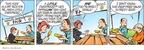 Cartoonist John Hambrock  The Brilliant Mind of Edison Lee 2009-10-02 dog food