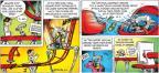 Cartoonist John Hambrock  The Brilliant Mind of Edison Lee 2011-05-15 dropping