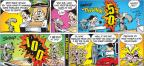 Cartoonist John Hambrock  The Brilliant Mind of Edison Lee 2011-11-13 ball game