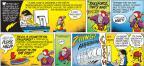 Cartoonist John Hambrock  The Brilliant Mind of Edison Lee 2012-03-18 blip